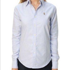 Ralph Lauren Women's Super Slim Fit Oxford Shirt 4